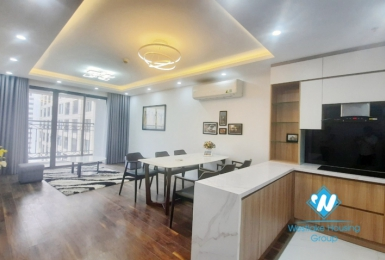 Furnished 3 bedroom apartment for rent in D'.Le Roi Soleil building Tay Ho